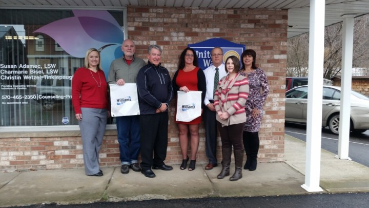 Williams Supports United Way of Susquehanna County
