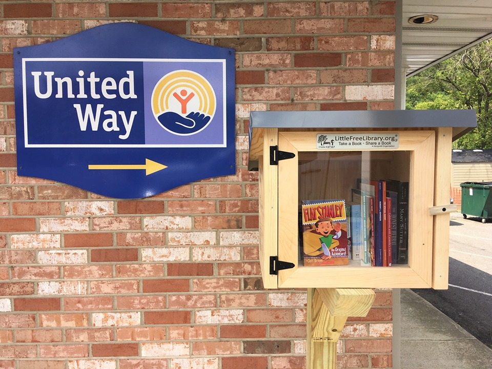 Grand Opening of 5th Little Free Library